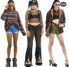 Cute Lazy Outfits, Edgy Outfits, Retro Outfits, Simple Outfits, Cool Outfits, 00s Fashion, Fashion Outfits, Fashion Catalogue, Poses