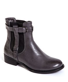 Look what I found on #zulily! French Blu Gray Hansen Ankle Boot by French Blu #zulilyfinds