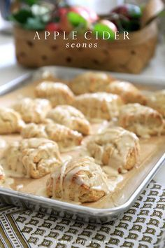 Apple Cider Scones | New Fall Recipe | Jenny Steffens Hobick | Bloglovin'