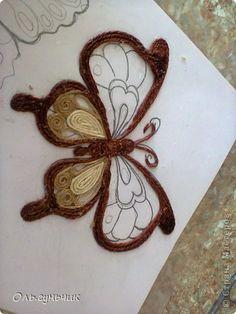 How to Make Beautiful Filigree Butterfly with Yarn | iCreativeIdeas.com LIKE Us on Facebook ==> https://www.facebook.com/icreativeideas