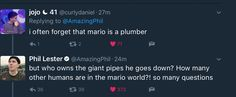 Phil is asking the important questions
