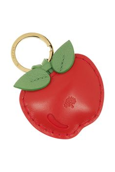 Mulberry | Leather apple key fob | NET-A-PORTER.COM