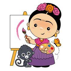 Chapulines Collection en Español: Fan art Frida