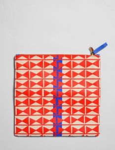 canvas printed foldover clutch #shopbird15, #SS14