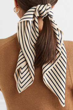 Totême | San Remo printed silk crepe de chine scarf | NET-A-PORTER.COM