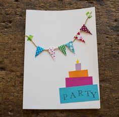 Einladungskarten für den Kindergeburtstag selbst gemacht