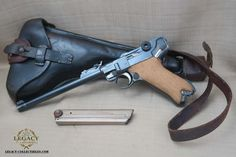 Luger Pistol, Shooting Sticks, Guns And Roses, You Magazine, American Made, Firearms, Hand Guns, Weapons, Tools
