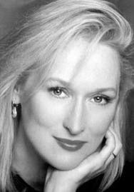 Meryl Streep - Nascimento: 22/06/1949 - País de nascimento: Estados Unidos. Vencedora de (3) Oscar pela Academia, até o ano de 2014. Streep venceu pelos trabalhos em: (Kramer VS. Kramer, 1979), (A Escolha de Sofia, 1982) e (A Dama de Ferro, 2011), além de outras (16) Indicações. Venceu também (1) Palma de Ouro. Venceu também (7) Globo de Ouros, além de outras (20) Indicações.