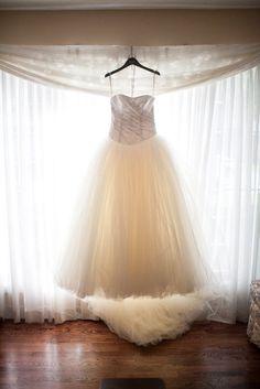 Pretty pretty pretty!!! Wedding gown by Vera Wang from David's Bridal / Photography by jamespaulcorreia.com