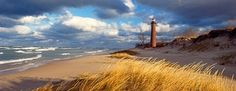 Little Sable Point Lighthouse in Michigan