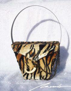 A leopard-inspired #bag Bucket Bag, Inspired, Bags, Inspiration, Fashion, Handbags, Biblical Inspiration, Moda, Fashion Styles