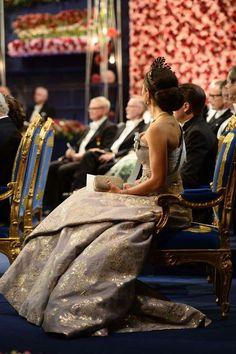 Scandinavian Royals. (@crownprincely) on Twitter: Nobel Prize Ceremony, Stockholm, Sweden, December 10, 2016-Crown Princess Victoria