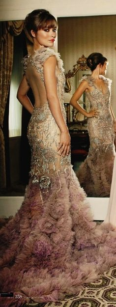 Marchesa catwalk fashion