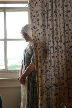 I seem destined to be forever dressed as a maid in the C18th! ... I know my place :D  From Paxton House's 'Georgian Ladette to Lady' etiquette classes, 2012. Devised by Karen Page.