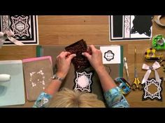 Crafting My Style with Sue Wilson - Dotted Technique for Creative Expressions - YouTube
