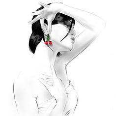 Hossein, roughman, represented by Caroline Maréchal. Copyright Hossein. More information on http://www.caroline-marechal.fr/