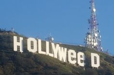 """Someone Changed The Hollywood Sign To Read """"Hollyweed"""" - BuzzFeed News"""