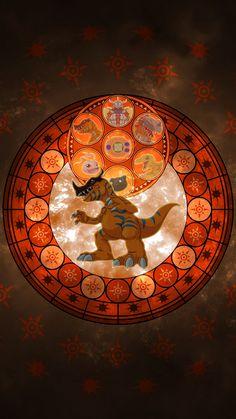 Renamon evolution line | Digimon | Digimon wallpaper ...