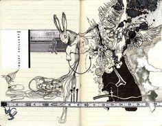 Incredible sketchbook work.