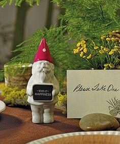 Gnome wedding favor