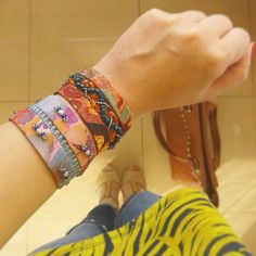 Cuff bracelet for great boho outfits!