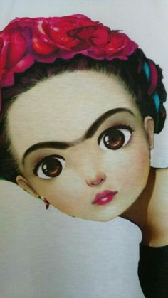 Bruja de alma sencilla - Hobbies paining body for kids and adult Freida Kahlo, Illustrations, Illustration Art, Frida Art, Chicano Art, Arte Popular, Mexican Folk Art, Whimsical Art, Doll Face