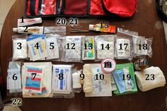 travel first aid kit checklist: Here is every single first aid item I packed for a long international trip.  Click to get the list.