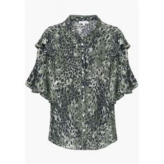 EXCLUSIVE Military Leopard Frankie Blouse - New · Lily and Lionel