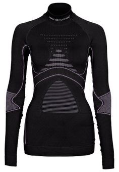 Teknisyyshuumaa. Robocopin kalsaripaita. ENERGY ACCUMULATOR EVO - Aluspaita - harmaa Evo, X Bionic, Wetsuit, Charcoal, High Neck Dress, Dresses With Sleeves, Long Sleeve, Swimwear, Fashion