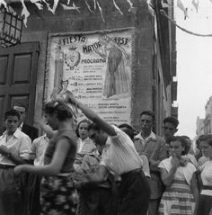 Fiestas de Gràcia Barcelona 1953  Autor: Francesc Catalá Roca (España)