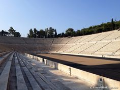 One of the oldest stadiums in the world, Panathenaic is also one of the few all-marble stadiums. Olympic Games, Olympics, Photo Galleries, Marble, Old Things, Running, World, Gallery, Racing