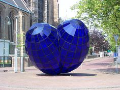 Delft Outdoor Sculpture by dmdwhitney, via Flickr