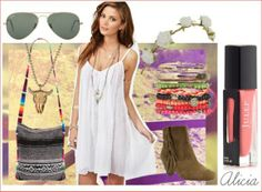 What to wear: Coachella Edition. Outfit for day 2 #Coachella #BohoGlam