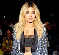 Kylie Jenner is denying the rumors that she had a boob job, insisting that she uses Victoria's Secret's Bombshell bra.