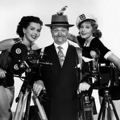 ANNE MILLER, RED SKELTON AND ARLENE DAHL