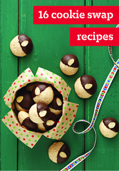 16 Cookie Swap Recipes – Cookie Swaps are a wonderful holiday tradition. So this year, break out the baking tools, and get ready to create some delicious, and quintessentially Christmas cookie recipes!