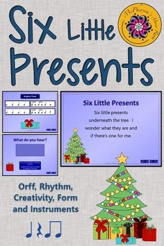 Your elementary music students will love the activities included with an original poem and lesson plan while working on rhythm and instruments. An excellent Orff and Kodaly resource around Christmas.