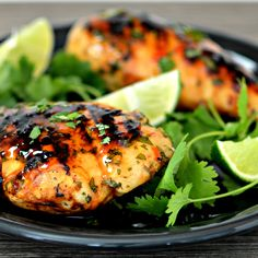Grilled Lime Cilantro Chicken with Sweet Chili Sauce #MyAllrecipes #AllrecipesAllstars #AllrecipesFaceless GrilledChicken #SweetChiliSauce