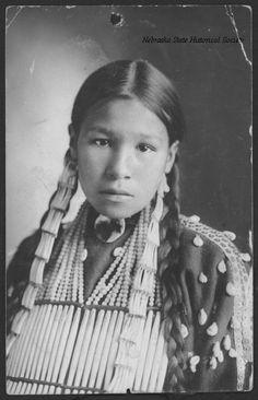 Девушка Лакота, период 1890 гг.