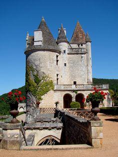 Le château des Milandes, Castelnaud la Chapelle, France