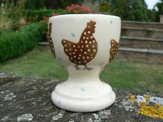 Emma Bridgewater SPECKLED HEN egg cup from 2008