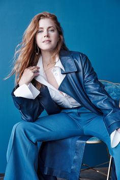 The Unbreakable: Amy Adams Covers British Elle November 2016 | Fashnberry