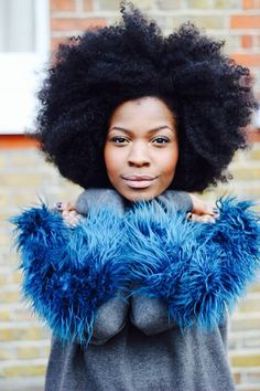 feathers, oversized jumper, faux fur, afro