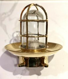 NAUTICAL LAMP SHADE SHIP NEW MARINE PASSAGEWAY BULKHEAD RETRO SHIP LIGHT