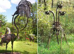 Incredible Scrap Metal Sculpture Park by Dr. Evermor