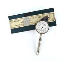 Hamilton Watch Map Measurer Model 331 in Box by worldvintage