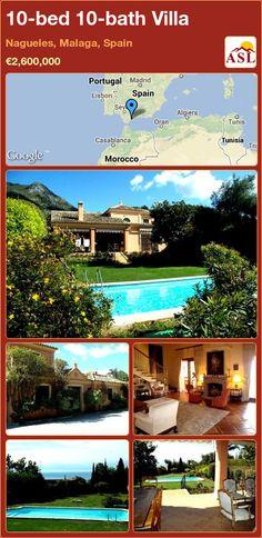 10-bed 10-bath Villa in Nagueles, Malaga, Spain ►€2,600,000 #PropertyForSaleInSpain