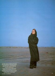 ☆ Karen Mulder | Photography by Mikael Jansson | For Vogue Magazine UK | October 1992 ☆ #karenmulder #mikaeljansson #vogue #1992