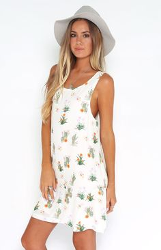 Somedays Lovin How Sweet It Is Cactus Dress | Beginning Boutique shop new @ www.bb.com.au/new