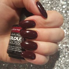 Artistic Colour Gloss Fab Available At Louella Belle #ArtisticNailDesign #ArtisticColourGloss #RedNails #Red #LouellaBelle